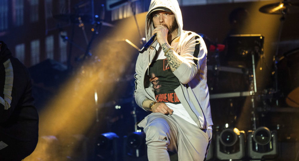 Wystąpienie rapera Eminema na festiwalu Bonnaroo w USA
