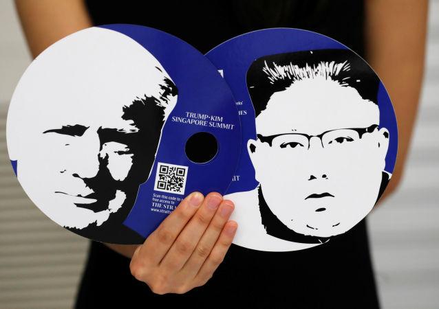 Spotkanie Donalda Trumpa i Kim Dzong Una w Singapurze