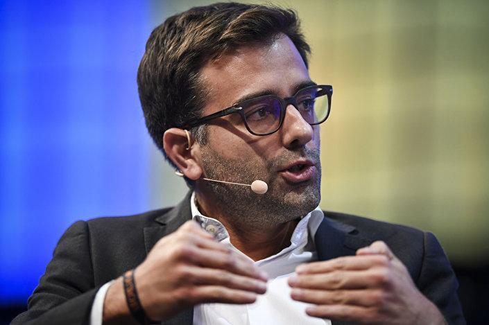 Współzałożyciel serwisu BlaBlaCar Nicolas Brusson