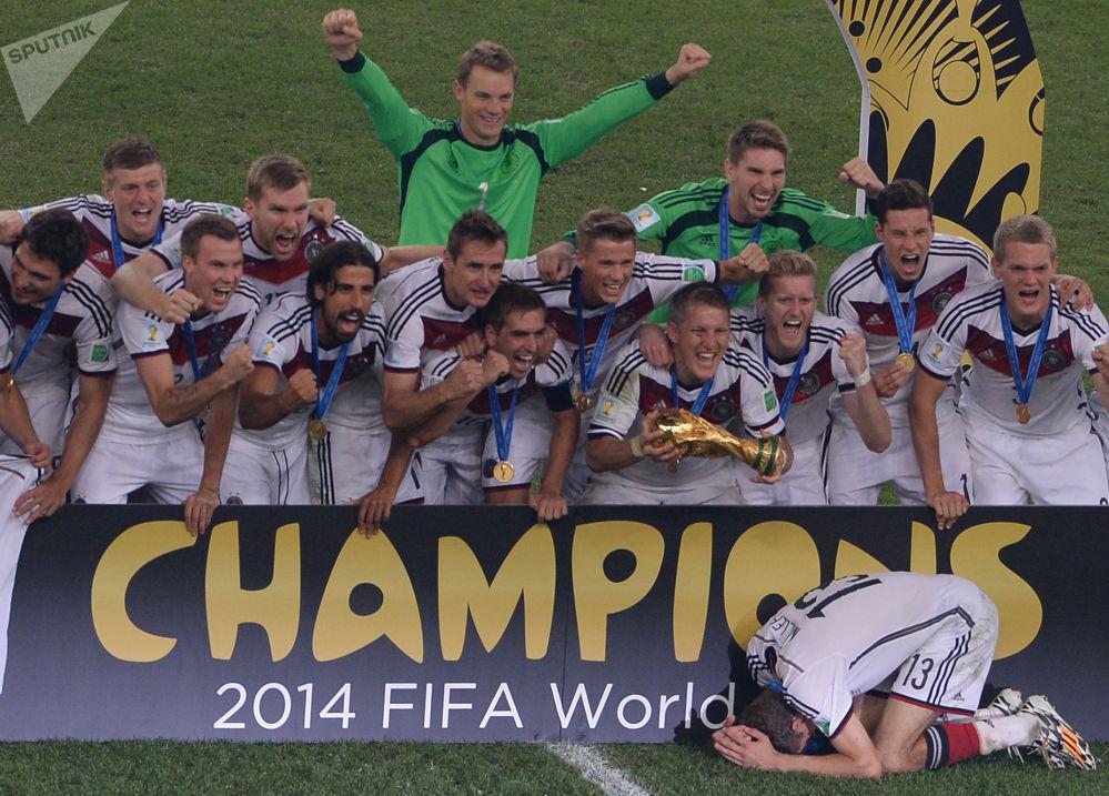 Finałowy mecz między Niemcami i Argentyną, 2014 rok