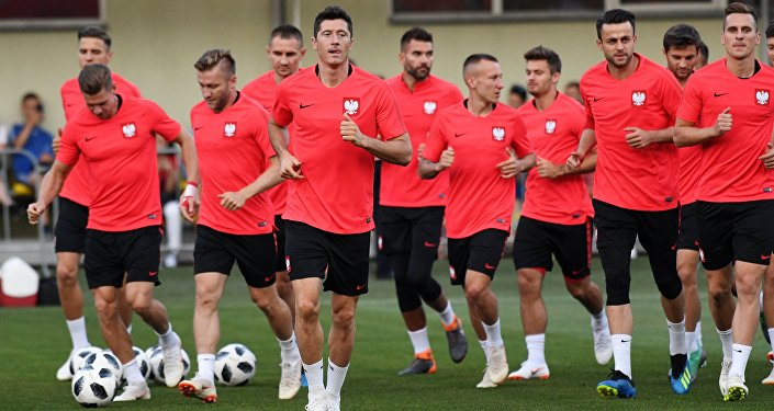 MŚ 2018. Trening polskiej reprezentacji