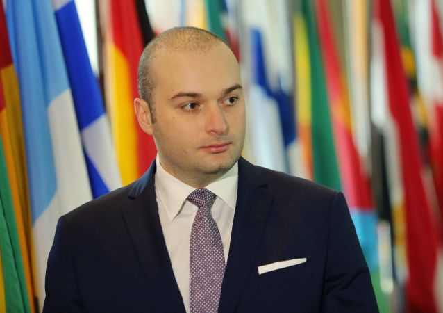 Minister finansów Gruzji, 36-letni Mamuka Bakhtadze