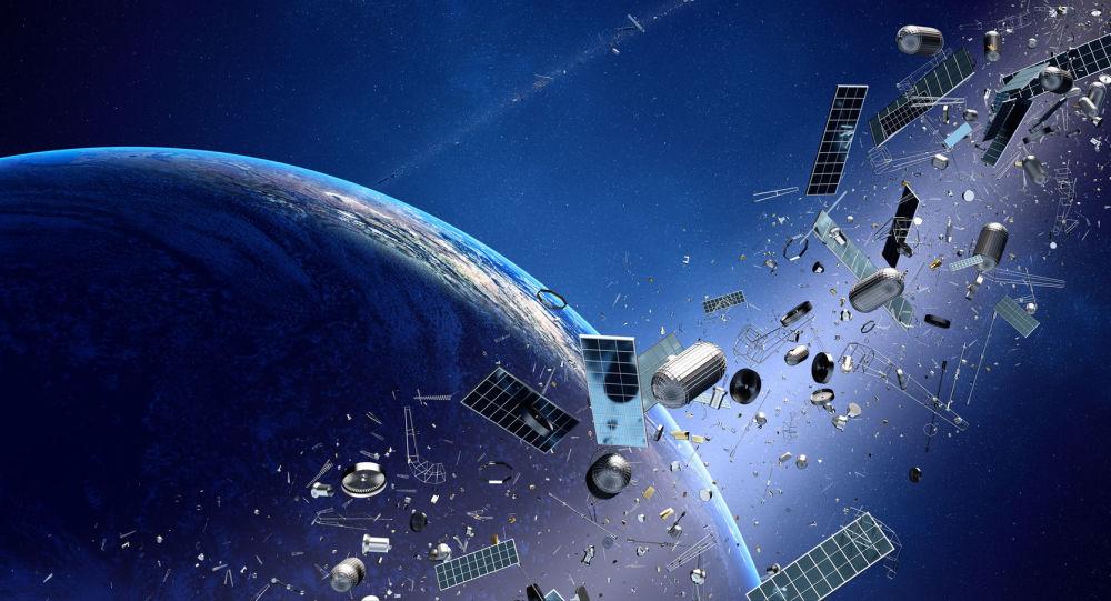 Śmieci kosmiczne krążące dookoła Ziemi