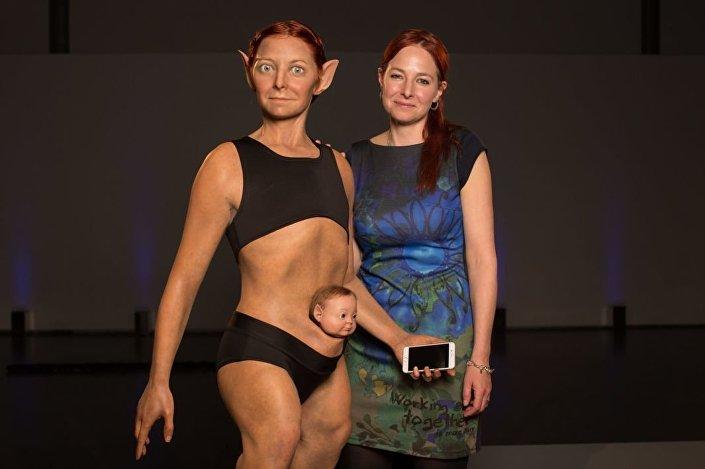 Antropolog Alice Roberts prezentuje kobietę idealną
