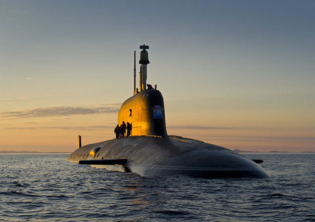 """Okręt podwodny projektu """"Jasień-M"""""""
