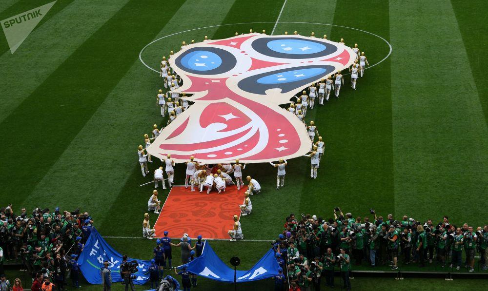 Ceremonia otwarcia Mundialu 2018 w Moskwie