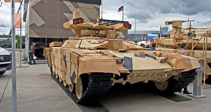 """Bojowy wóz wsparcia czołgów BMPT """"Terminator-3"""""""
