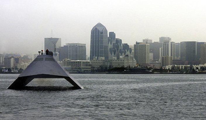 Dwukorpusowy okręt Sea Shadow (IX-529)