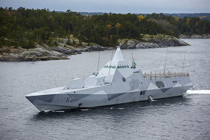 Korweta projektu Visby
