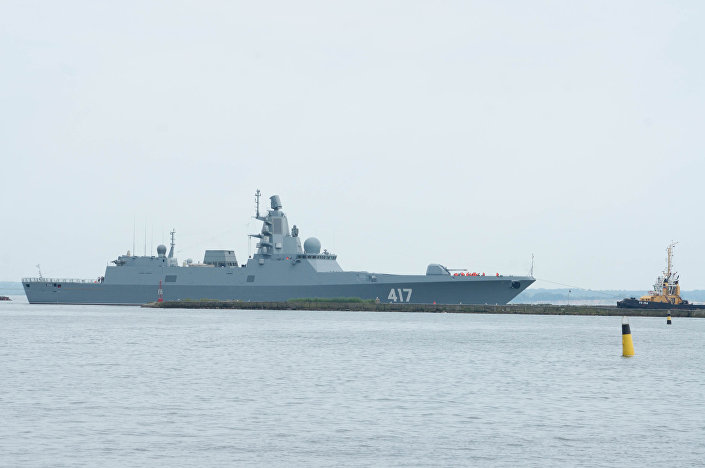 "Fregata ""Admirał Gorszkow"" projektu 22350"