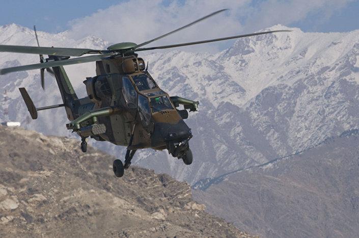 Europejski śmigłowiec szturmowy Eurocopter Tiger