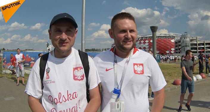 Kibice w Moskwie