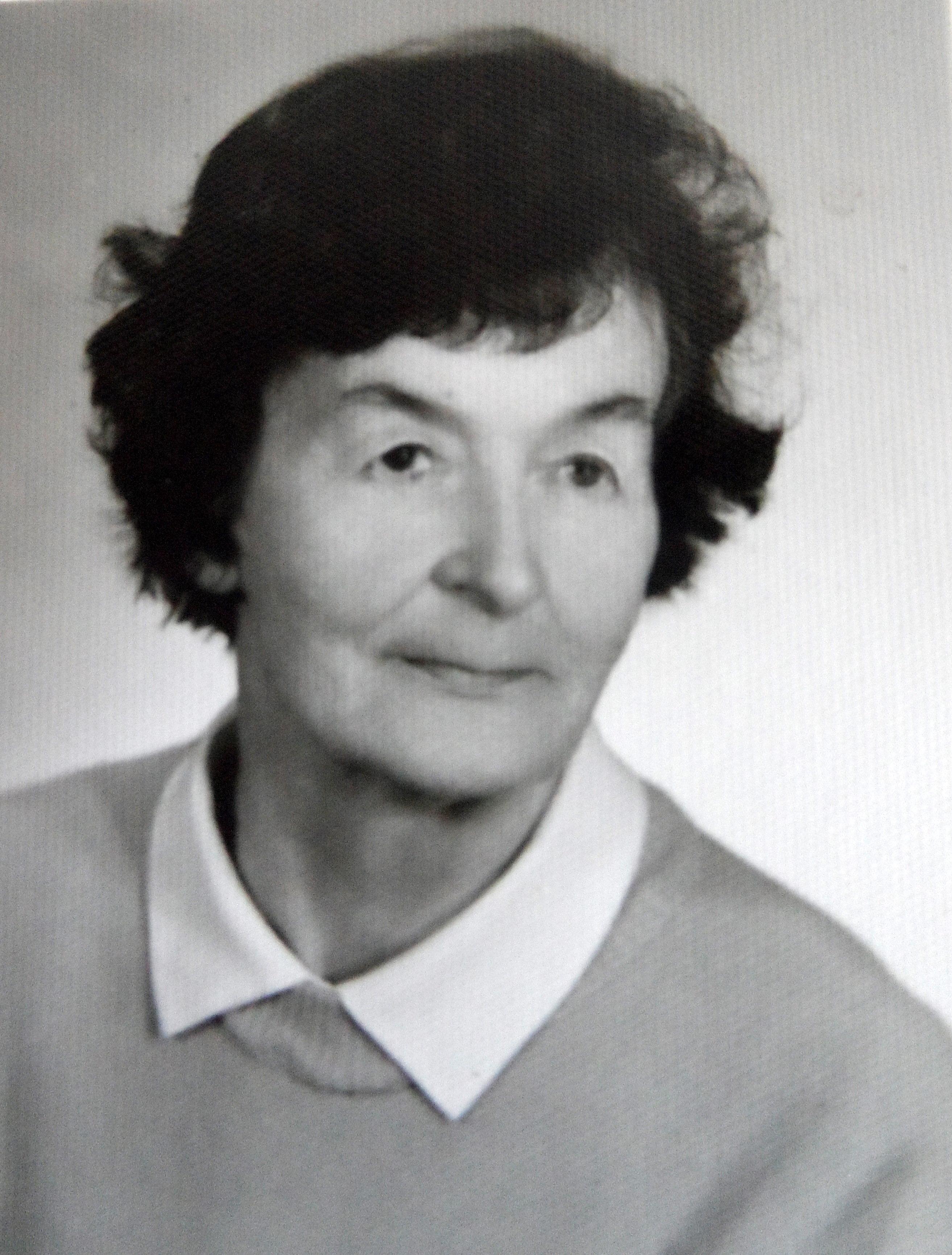 Jadwiga Bąbczyńska po wyjściu z więzienia. Maj 1956