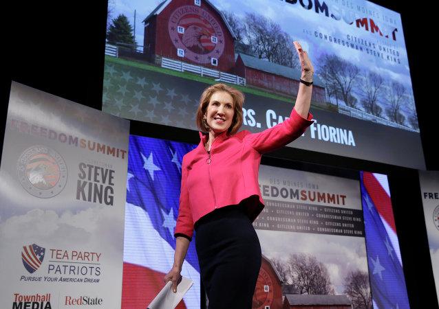 Kandydatka na prezydenta Stanów Zjednoczonych z Partii Republikańskiej Carly Fiorina