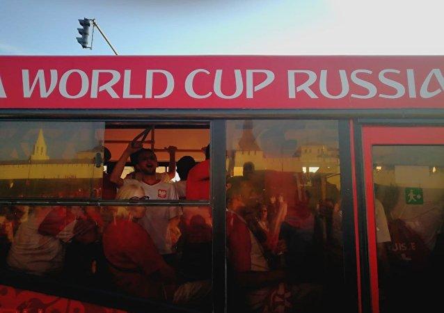 Kazań: Polacy jadą na mecz