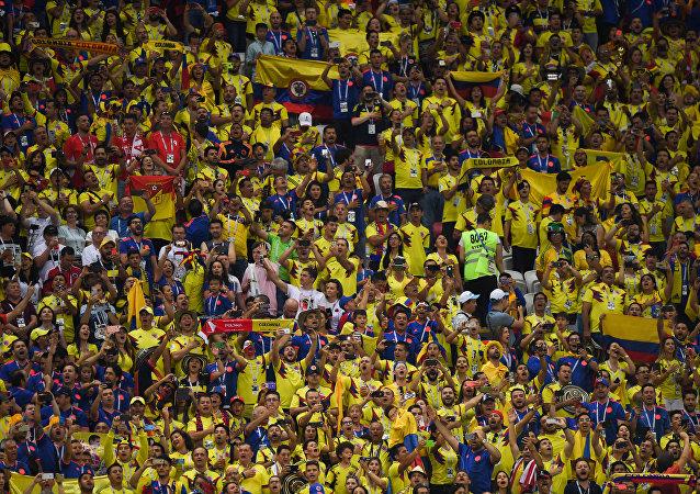 Mecz Polska - Kolumbia