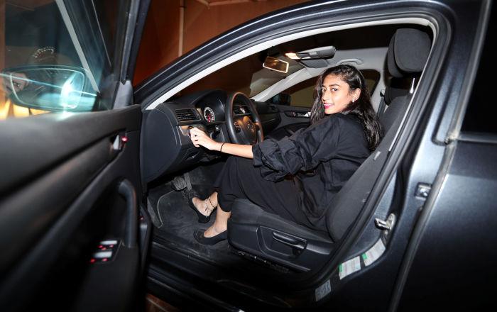Kobieta za kierownicą, Arabia Saudyjska