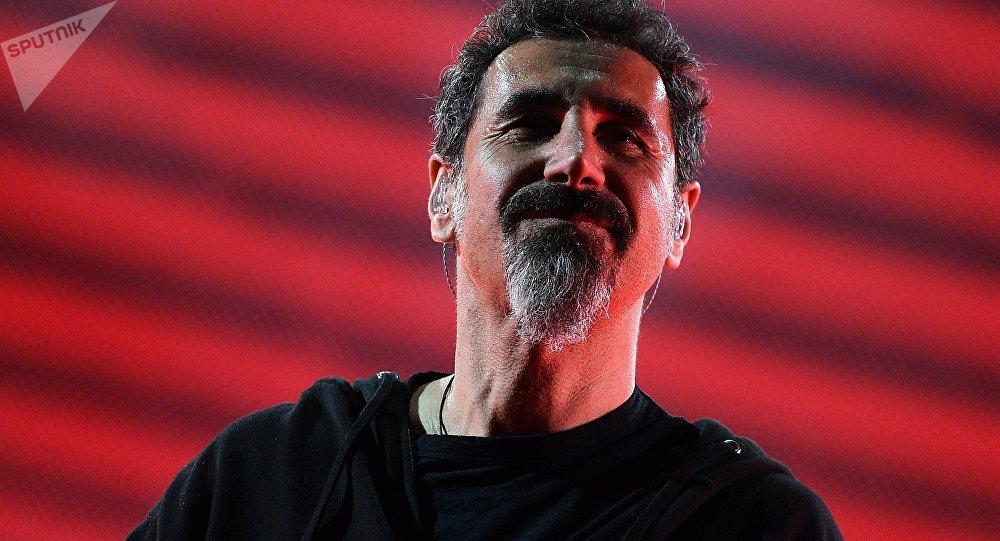 System Of A Down (SOAD) singer Serj Tankian. File photo