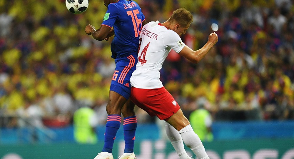 Mecz Polska-Kolumbia
