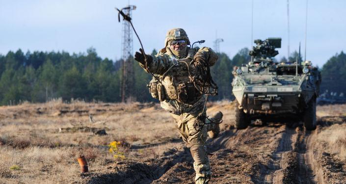 Manewry NATO na Litwie. Zdjęcie archiwalne