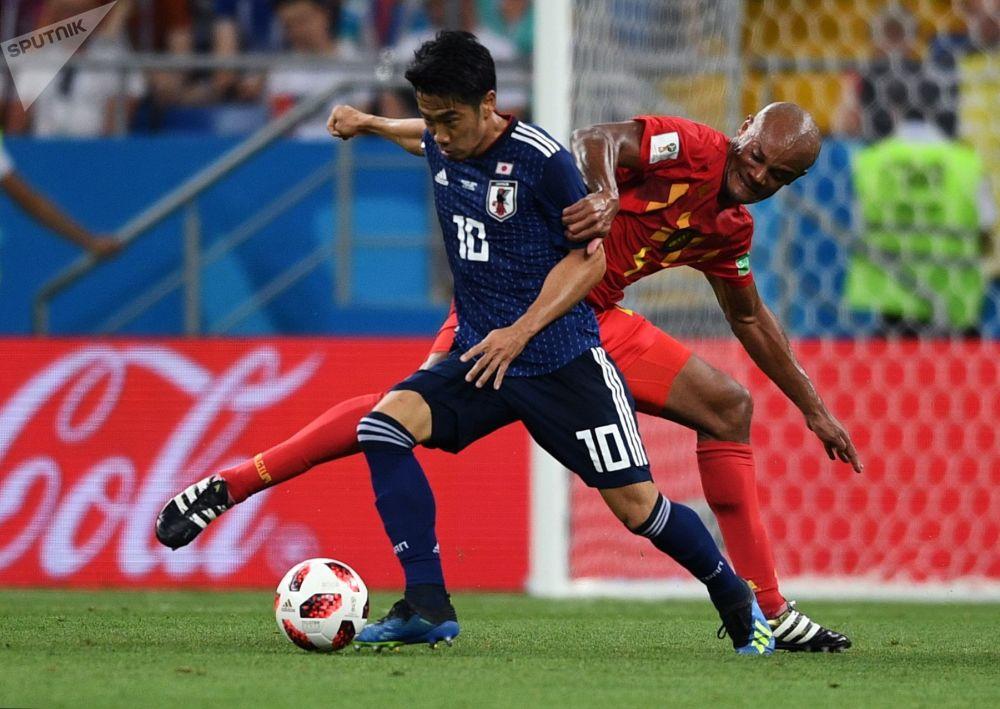 Shinji Kagawa i Vincent Kompany