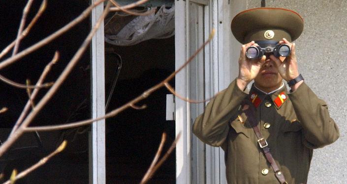 Żołnierz północnokoreańskiej armii