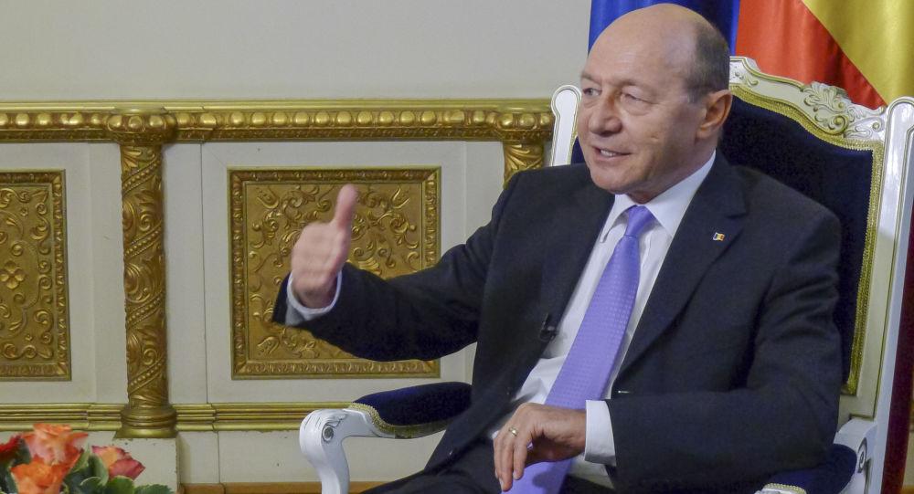 Były prezydent Rumunii Traian Basescu
