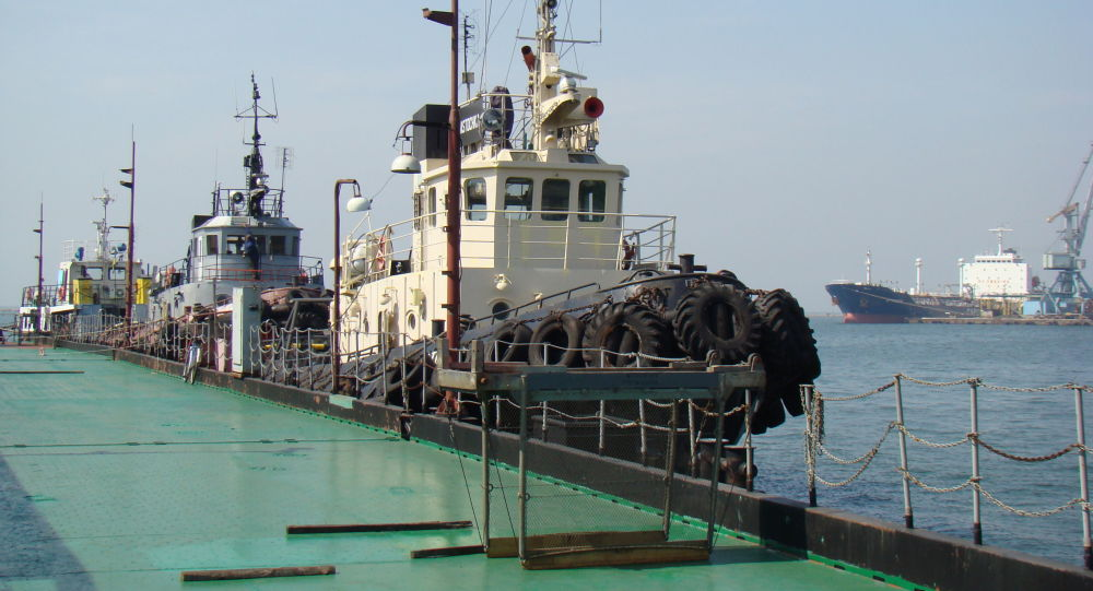 Port Buksiry w Berdiańsku