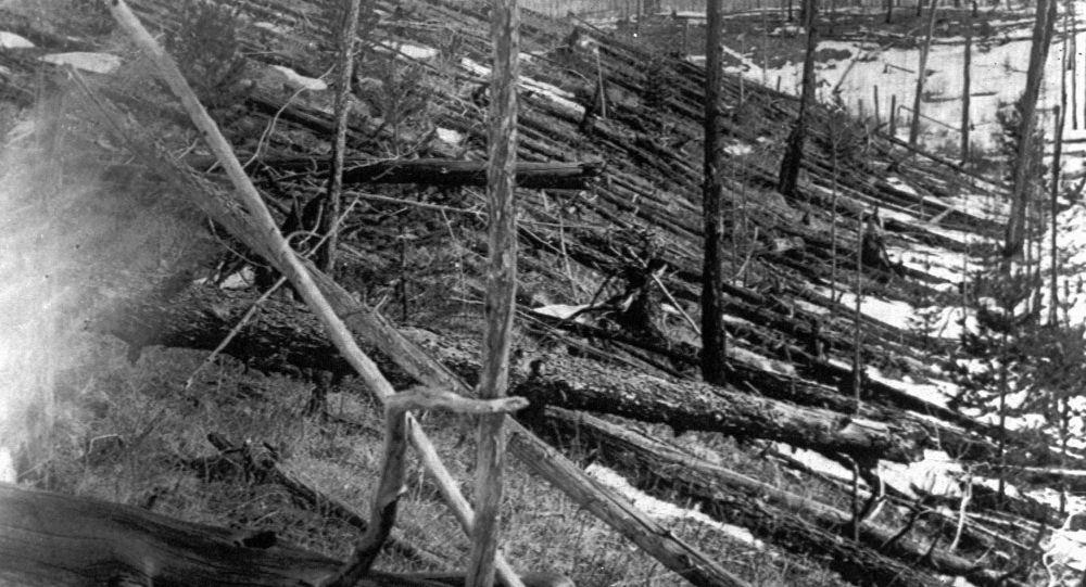 Miejsce upadku tunguskiego meteorytu