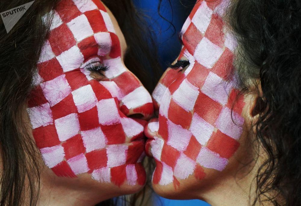 Kibicki reprezentacji Chorwacji