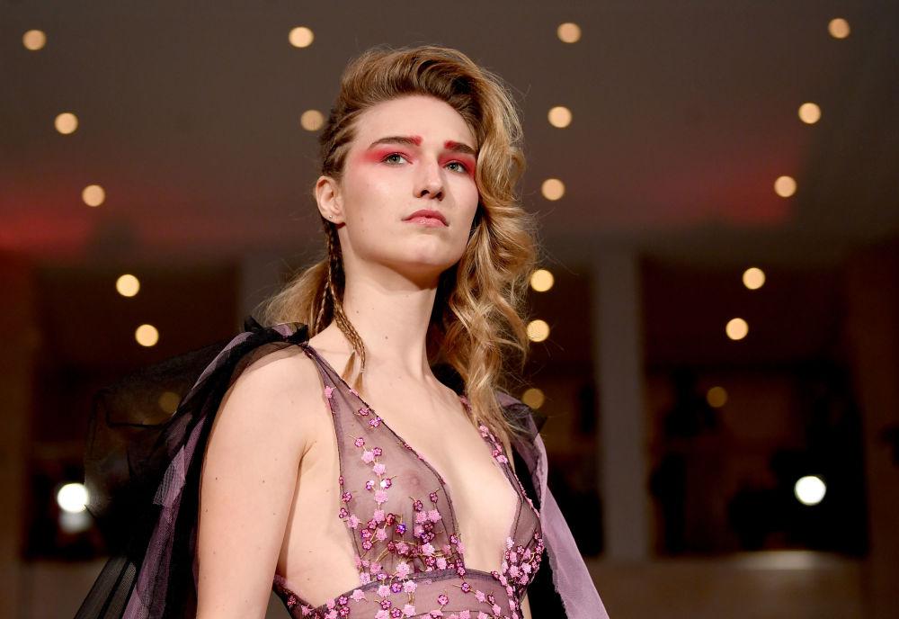 Pokaz kolekcji Anja Gockel podczas Tygodnia Mody w Berlinie