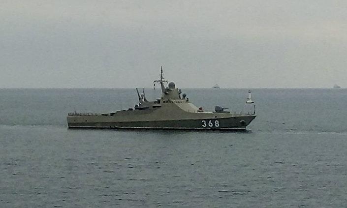 """Główny okręt patrolowy projektu 22160 """"Wasilij Bykow"""""""