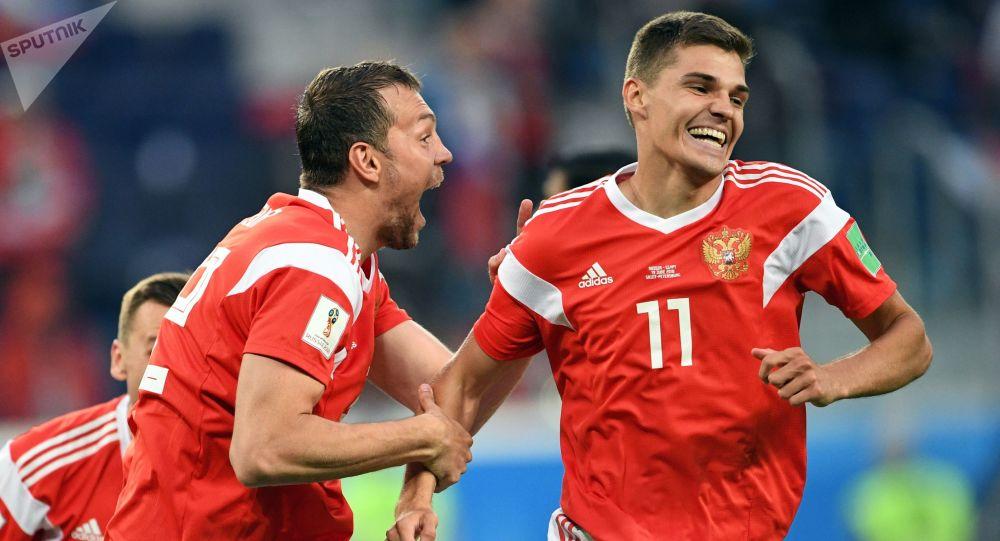 Piłkarze reprezentacji Rosji na MŚ 2018