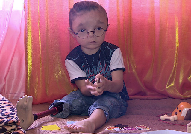 Chłopczyk Rustam