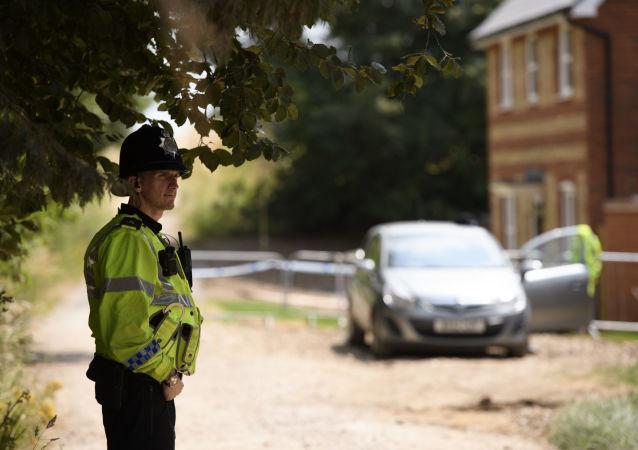 Policja w Amesbury