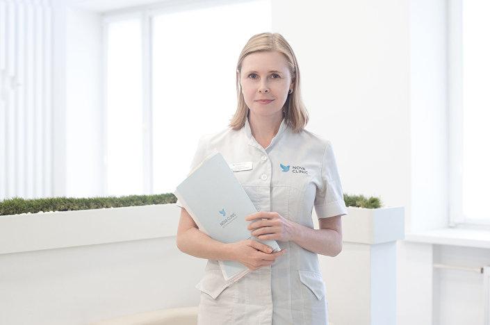 Natalia Kalinina, lekarz ginekolog specjalizujący się w leczeniu bezpłodności w Medicine Nova Clinic w Moskwie