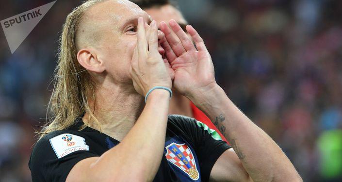Chorwacki piłkarz Domagoj Vida