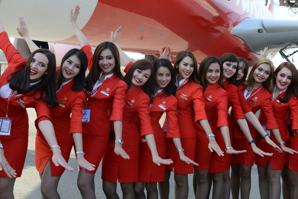 Stewardessy Air Asia