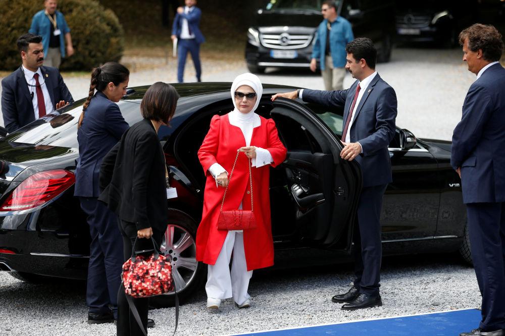 Żona prezydenta Turcji Emine Erdogan