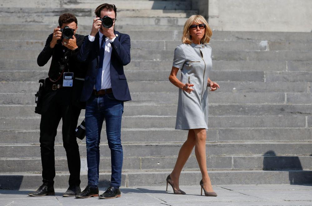 Pierwsza Dama Francji Brigitte Macron