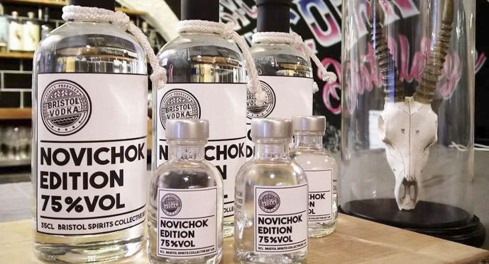 Wódka Novichok w Wielkiej Brytanii