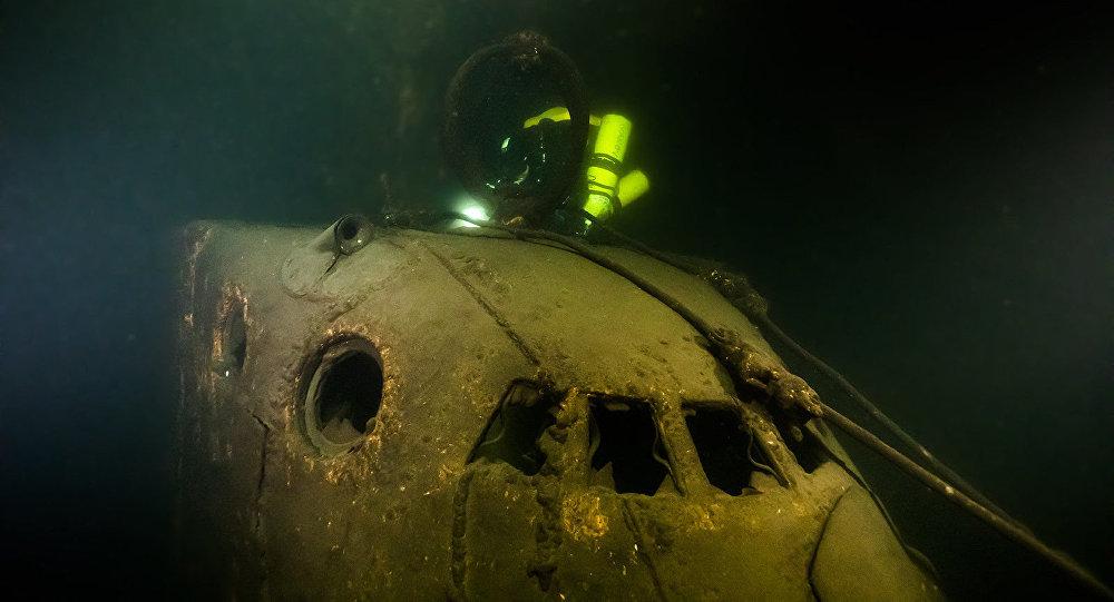 Okręt podwodny Szcz-317 odnaleziony przez uczestników wyprawy Ukłon w stronę okrętów Wielkiego Zwycięstwa