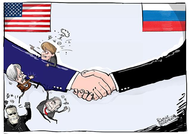 To przecież ręka Kremla!