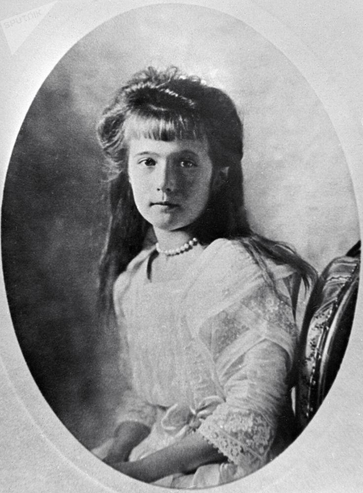 Anastazja Romanowa, najmłodsza córka cara