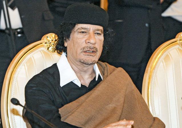 Muammar Kaddafi, 2008 rok