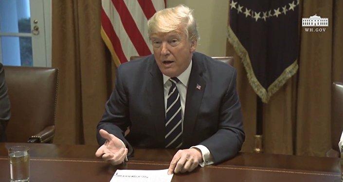 Trump o ingerencji Rosji