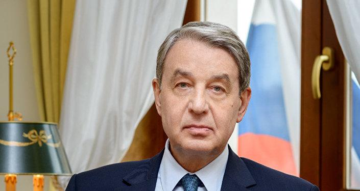 Ambasador Rosji w Watykanie Aleksander Awdiejew