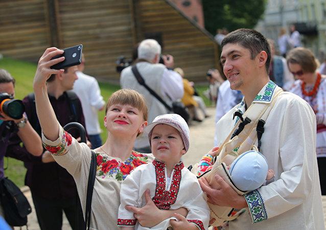 Marsz wyszywanek w Kijowie
