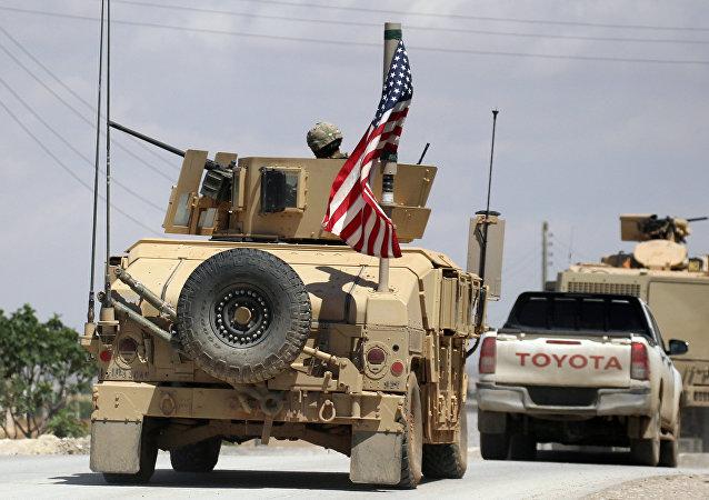 Amerykańskie wojska w Syrii