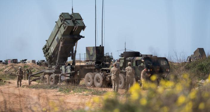 Amerykański zestaw antyrakietowy w Izraelu